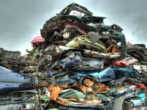 skrotpræmie - skrot din bil nemt - sådan ser en skrotbil ud